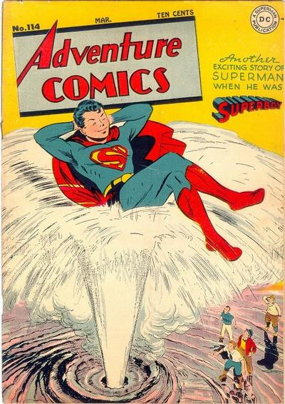 Cover for Adventure Comics (DC, 1938 series) #114