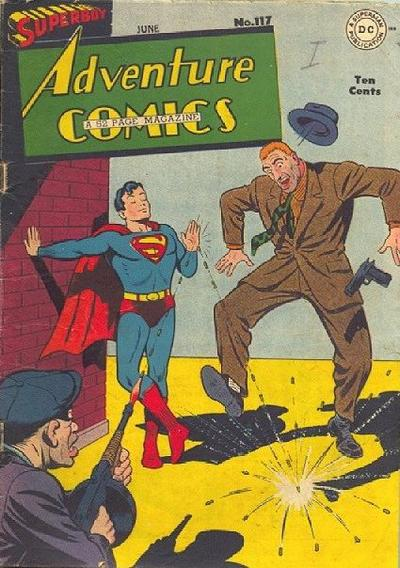 Cover for Adventure Comics (DC, 1938 series) #117