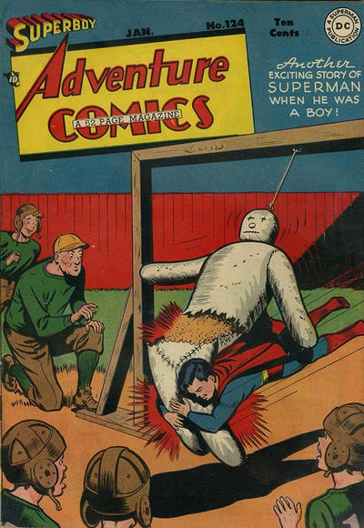 Cover for Adventure Comics (DC, 1938 series) #124