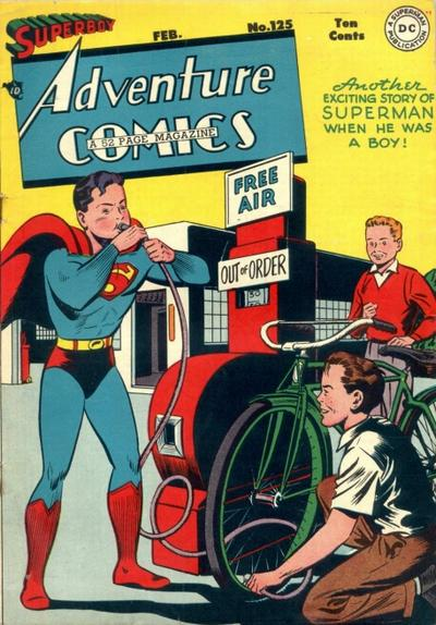 Cover for Adventure Comics (DC, 1938 series) #125
