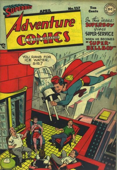 Cover for Adventure Comics (DC, 1938 series) #127