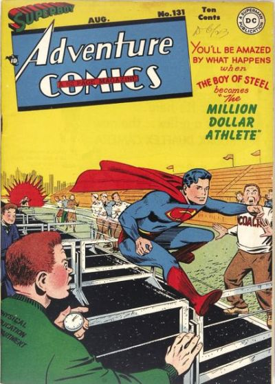 Cover for Adventure Comics (DC, 1938 series) #131