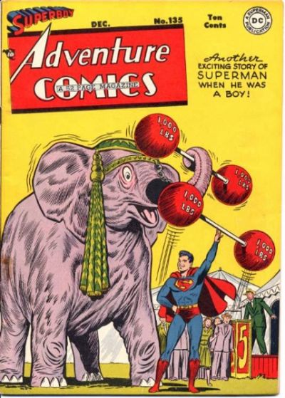 Cover for Adventure Comics (DC, 1938 series) #135