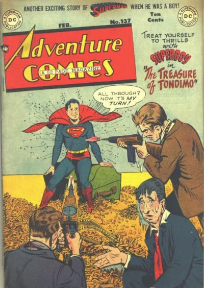 Cover for Adventure Comics (DC, 1938 series) #137