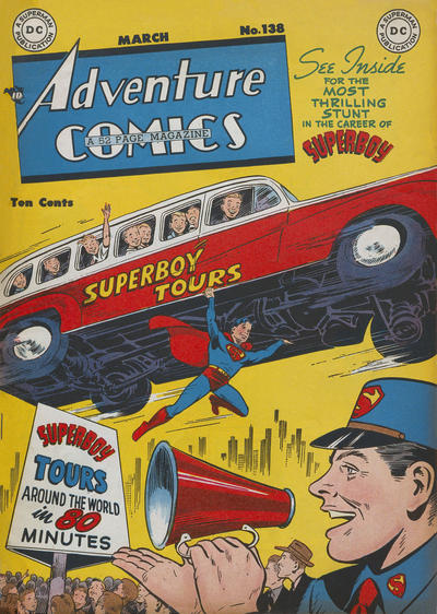 Cover for Adventure Comics (DC, 1938 series) #138