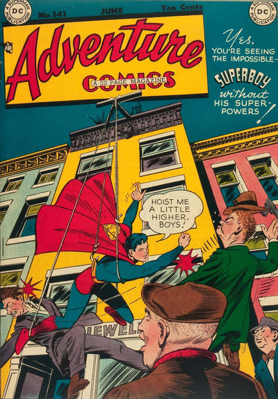 Cover for Adventure Comics (DC, 1938 series) #141