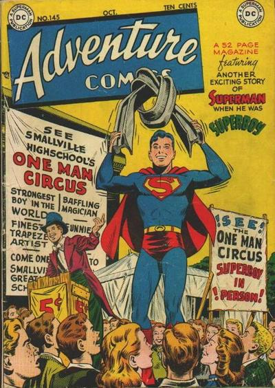 Cover for Adventure Comics (DC, 1938 series) #145