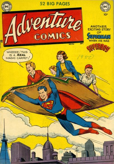 Cover for Adventure Comics (DC, 1938 series) #156