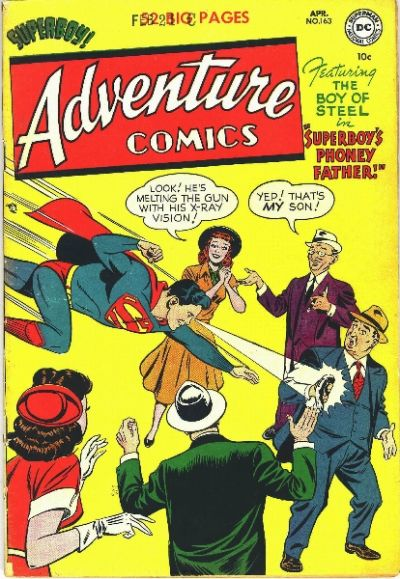 Cover for Adventure Comics (DC, 1938 series) #163
