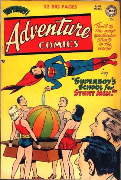 Cover for Adventure Comics (DC, 1938 series) #165
