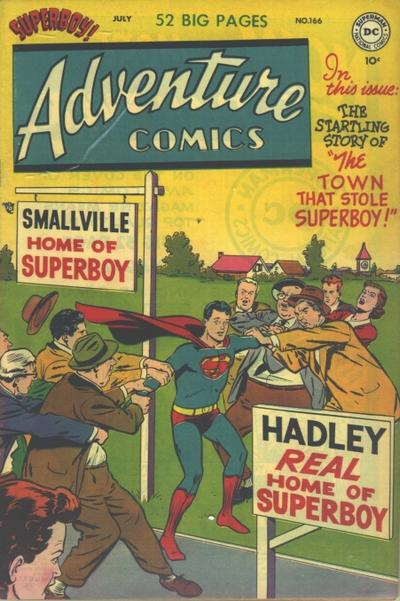 Cover for Adventure Comics (DC, 1938 series) #166