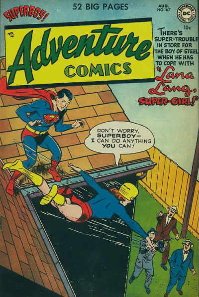 Cover for Adventure Comics (DC, 1938 series) #167