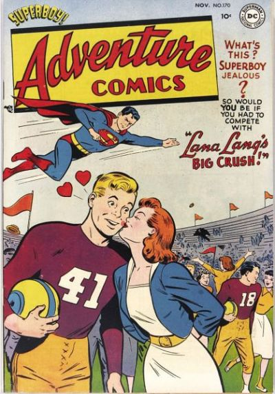 Cover for Adventure Comics (DC, 1938 series) #170