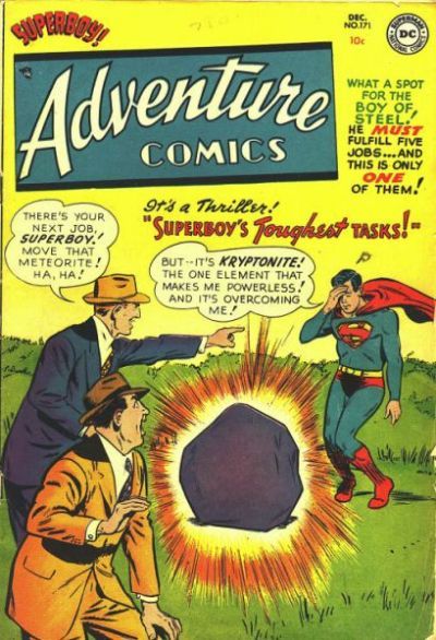 Cover for Adventure Comics (DC, 1938 series) #171
