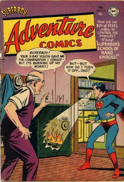 Cover for Adventure Comics (DC, 1938 series) #173