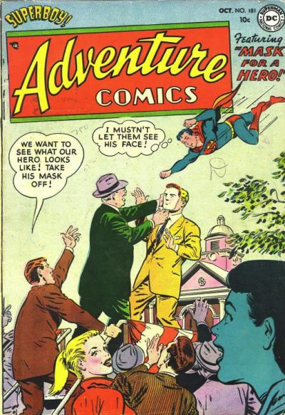 Cover for Adventure Comics (DC, 1938 series) #181