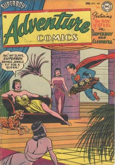 Cover for Adventure Comics (DC, 1938 series) #183