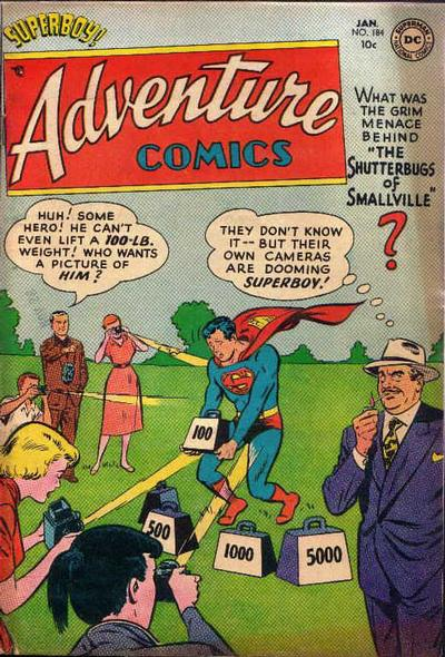Cover for Adventure Comics (DC, 1938 series) #184