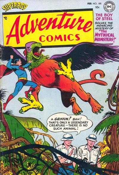 Cover for Adventure Comics (DC, 1938 series) #185