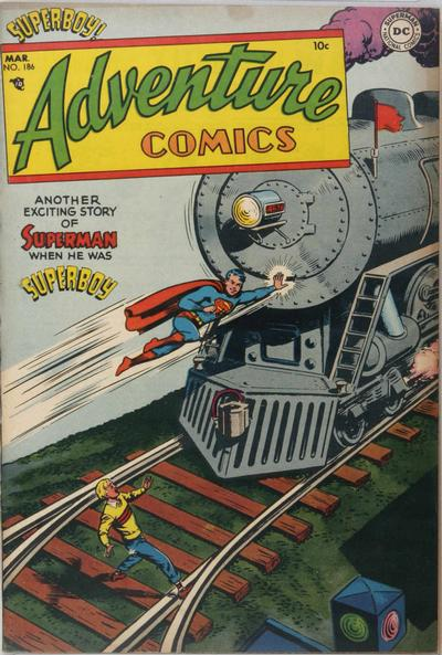Cover for Adventure Comics (DC, 1938 series) #186