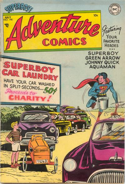 Cover for Adventure Comics (DC, 1938 series) #190