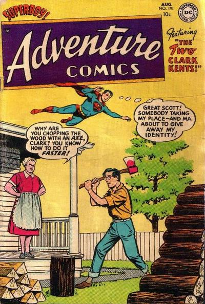 Cover for Adventure Comics (DC, 1938 series) #191