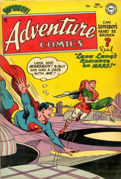 Cover for Adventure Comics (DC, 1938 series) #195