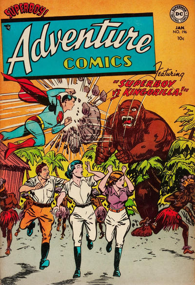 Cover for Adventure Comics (DC, 1938 series) #196