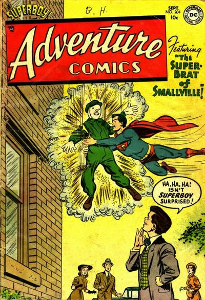 Cover for Adventure Comics (DC, 1938 series) #204
