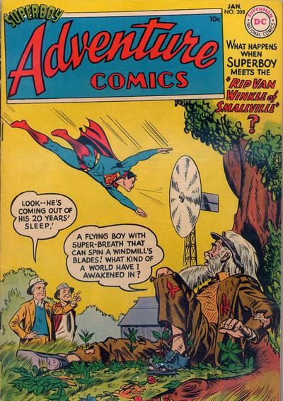 Cover for Adventure Comics (DC, 1938 series) #208