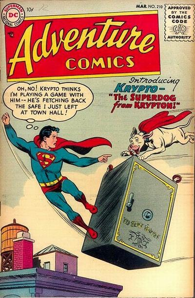Cover for Adventure Comics (DC, 1938 series) #210