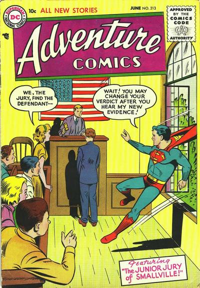 Cover for Adventure Comics (DC, 1938 series) #213