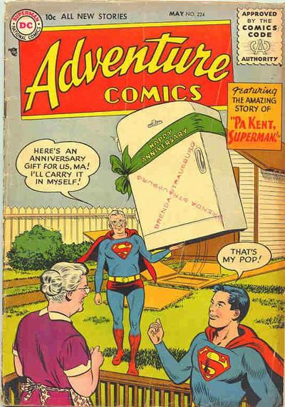 Cover for Adventure Comics (DC, 1938 series) #224