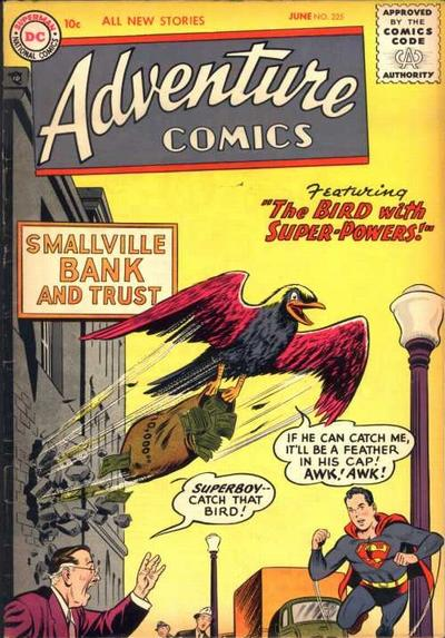 Cover for Adventure Comics (DC, 1938 series) #225