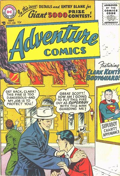 Cover for Adventure Comics (DC, 1938 series) #228