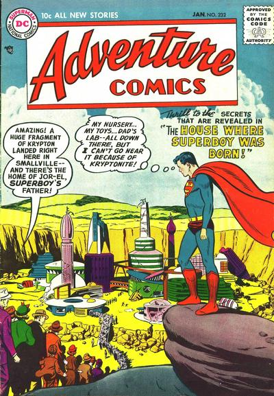 Cover for Adventure Comics (DC, 1938 series) #232
