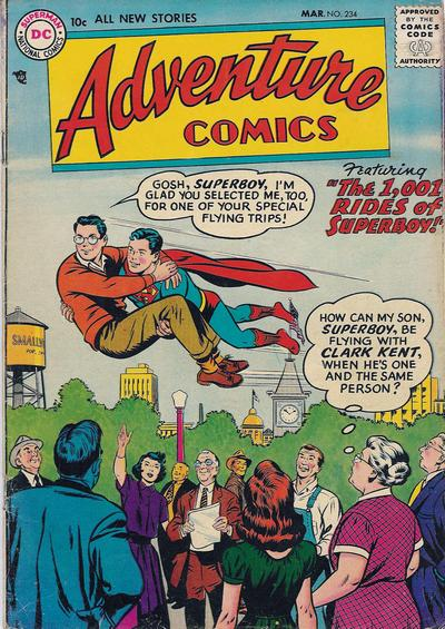 Cover for Adventure Comics (DC, 1938 series) #234