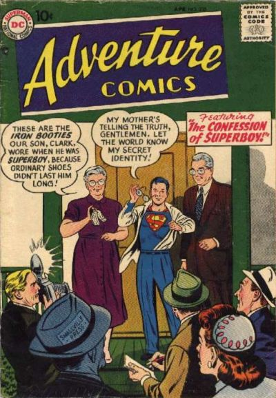 Cover for Adventure Comics (DC, 1938 series) #235