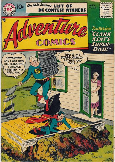 Cover for Adventure Comics (DC, 1938 series) #236