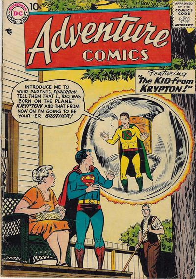 Cover for Adventure Comics (DC, 1938 series) #242