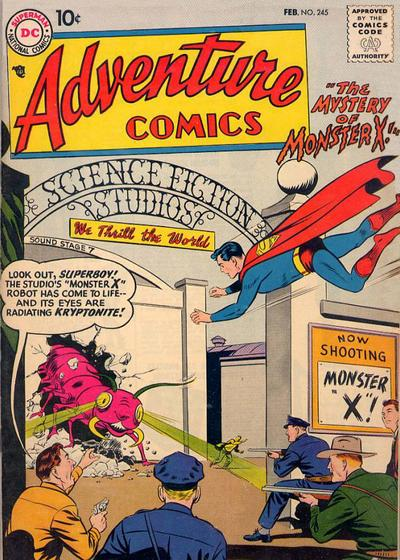 Cover for Adventure Comics (DC, 1938 series) #245