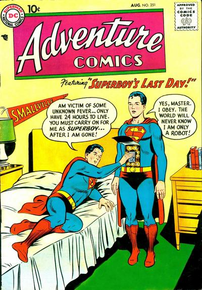 Cover for Adventure Comics (DC, 1938 series) #251