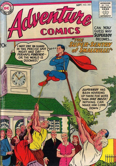 Cover for Adventure Comics (DC, 1938 series) #252