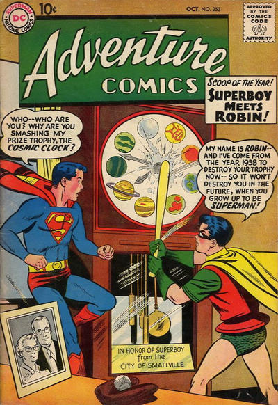 Cover for Adventure Comics (DC, 1938 series) #253