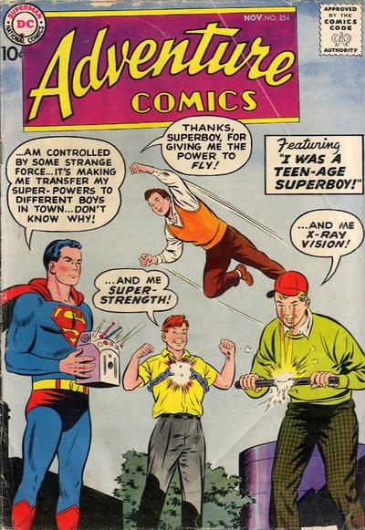 Cover for Adventure Comics (DC, 1938 series) #254