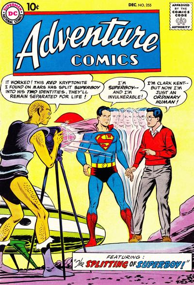 Cover for Adventure Comics (DC, 1938 series) #255