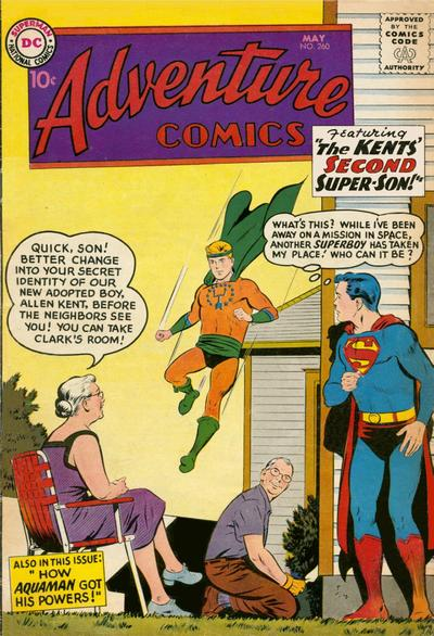 Cover for Adventure Comics (DC, 1938 series) #260