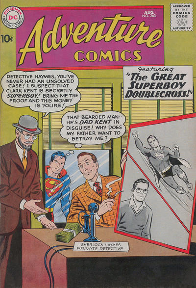 Cover for Adventure Comics (DC, 1938 series) #263