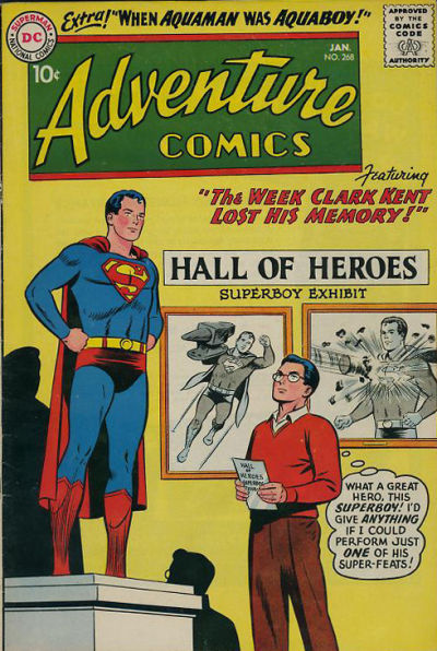 Cover for Adventure Comics (DC, 1938 series) #268