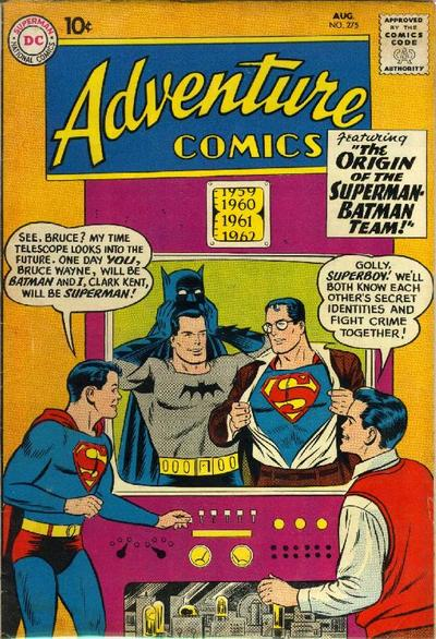 Cover for Adventure Comics (DC, 1938 series) #275